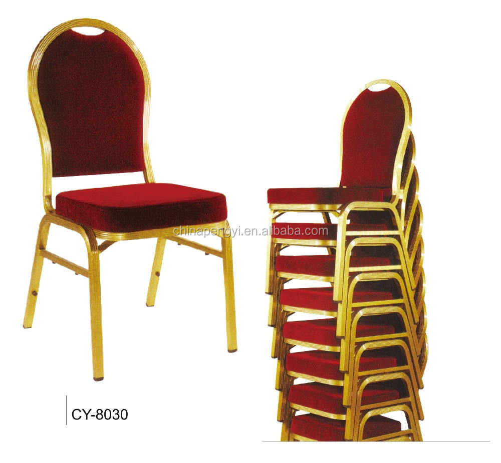 Cheap Stacking hotel restaurant used price steel banquet chair