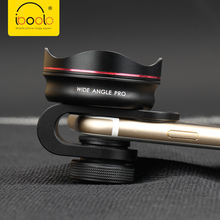 IBOOLO Top quality aluminum 18MM PRO HD super wide angle lens for iPhone Sumsung HTC