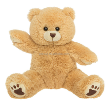 "voice recorder for plush toy/Recordable Plush 15"" Talking Teddy Bear/Plush toy factory"
