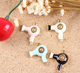 metal hair dryer charm for bracelet color enameled charm jewelry accessory jewelry