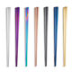 Korean Custom Color Stainless Steel Metal Titanium Chopsticks for Sushi Wedding Gift Souvenirs
