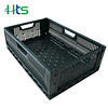 Cheap 600*400*190mm folding plastic crates for fruits and vegetables