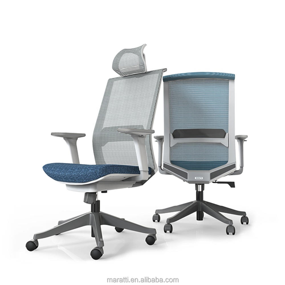 Task lift office chairs with nylon base manager chair office chair