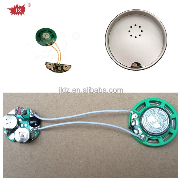 Light sensor greeting card music chip / light operated sound module for greeting card
