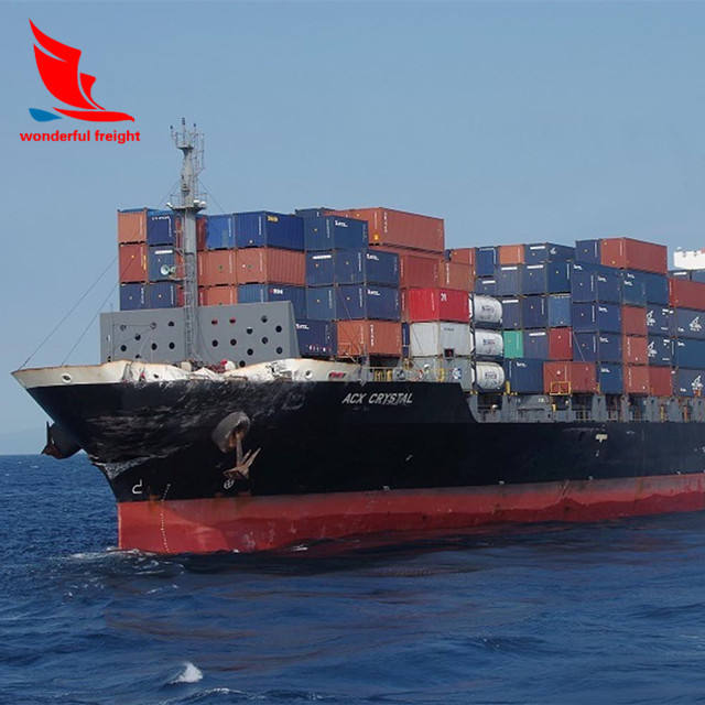 Sea LCL freight shipping cargo charges to Lagos