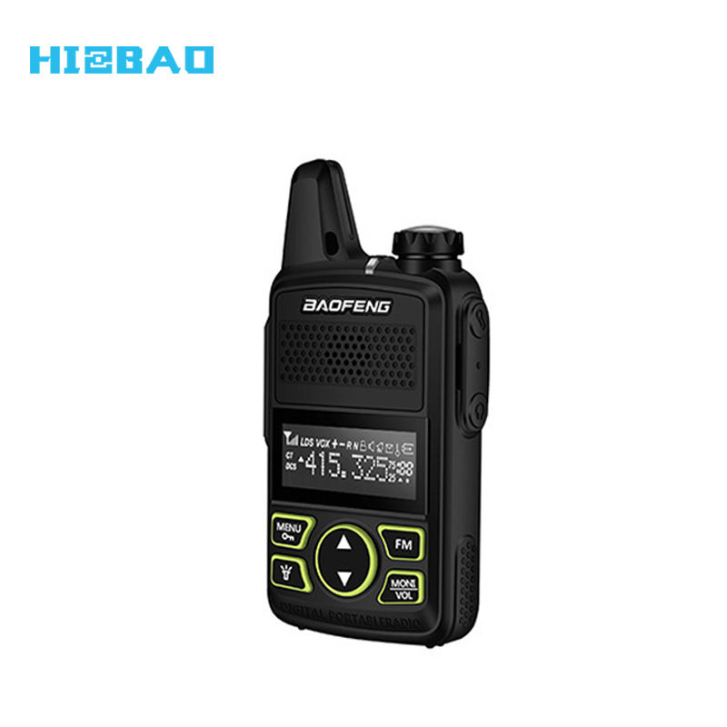 Baofeng Mini Size 2W BFT1 BF-T1 BF T1 Walkie Talkie Two Way Radio for Restaurant Hotel