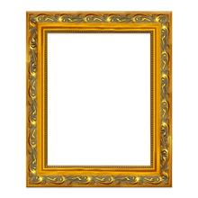 Classic Royal Wooden Baroque Picture Frame Antique Golden Frame For Oil Painting