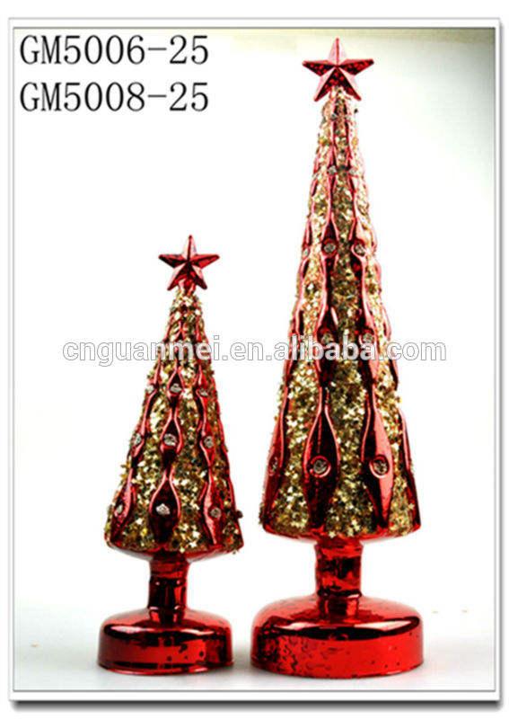 Изменение цвета из светодиодов стекло рождественская елка