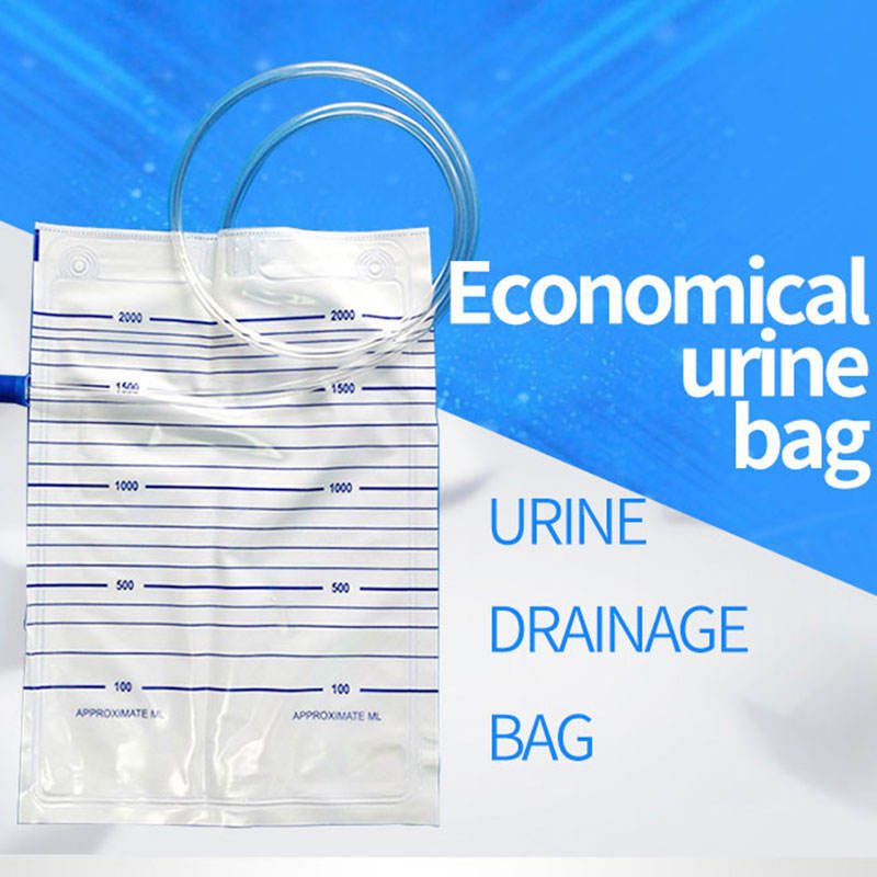 medical surgical equipments clinic urine drainage bag