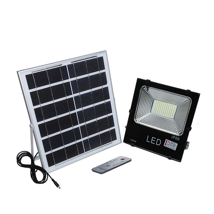 IP65 waterproof outdoor ultra slim Aluminum 10w 20w 30w 50w 100w solar led flood light