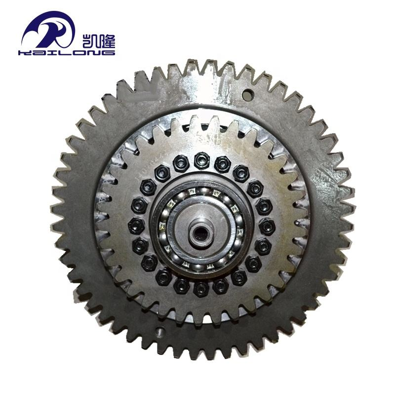 High quality parts second gear shaft assembly for changlin ZL50H wheel loader