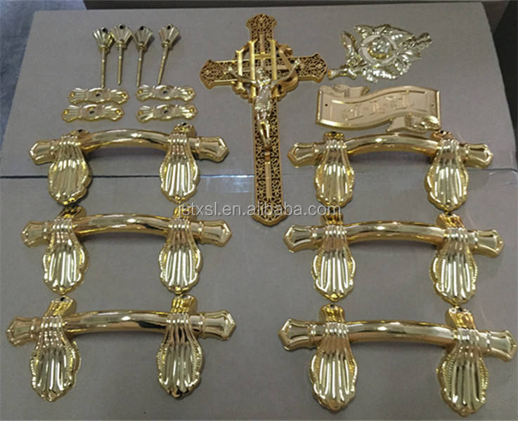 funeral casket handles for sale Plastic Handle H9004 set
