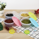 600ML/800ML Kitchen Organize Tool Food Cereal Grain Bean Rice Plastic Storage Food Box Container with Cover