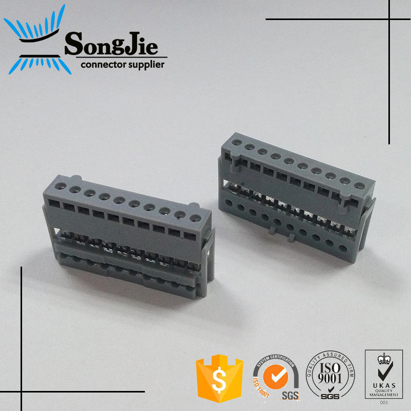 equivalent stocko 2.5mm idc socket connector 2 to 20 pins