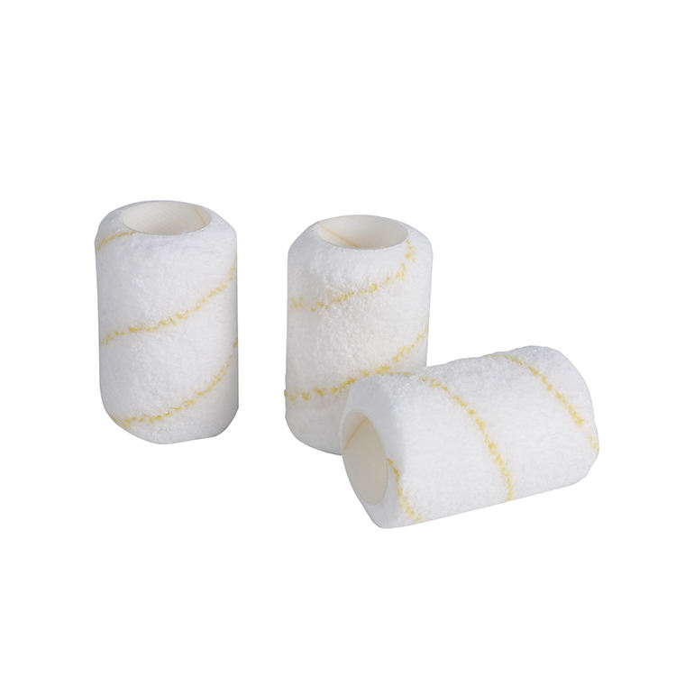Chinese Microfiber 4 inch Mini Decoratieve Verf Roller Cover Set