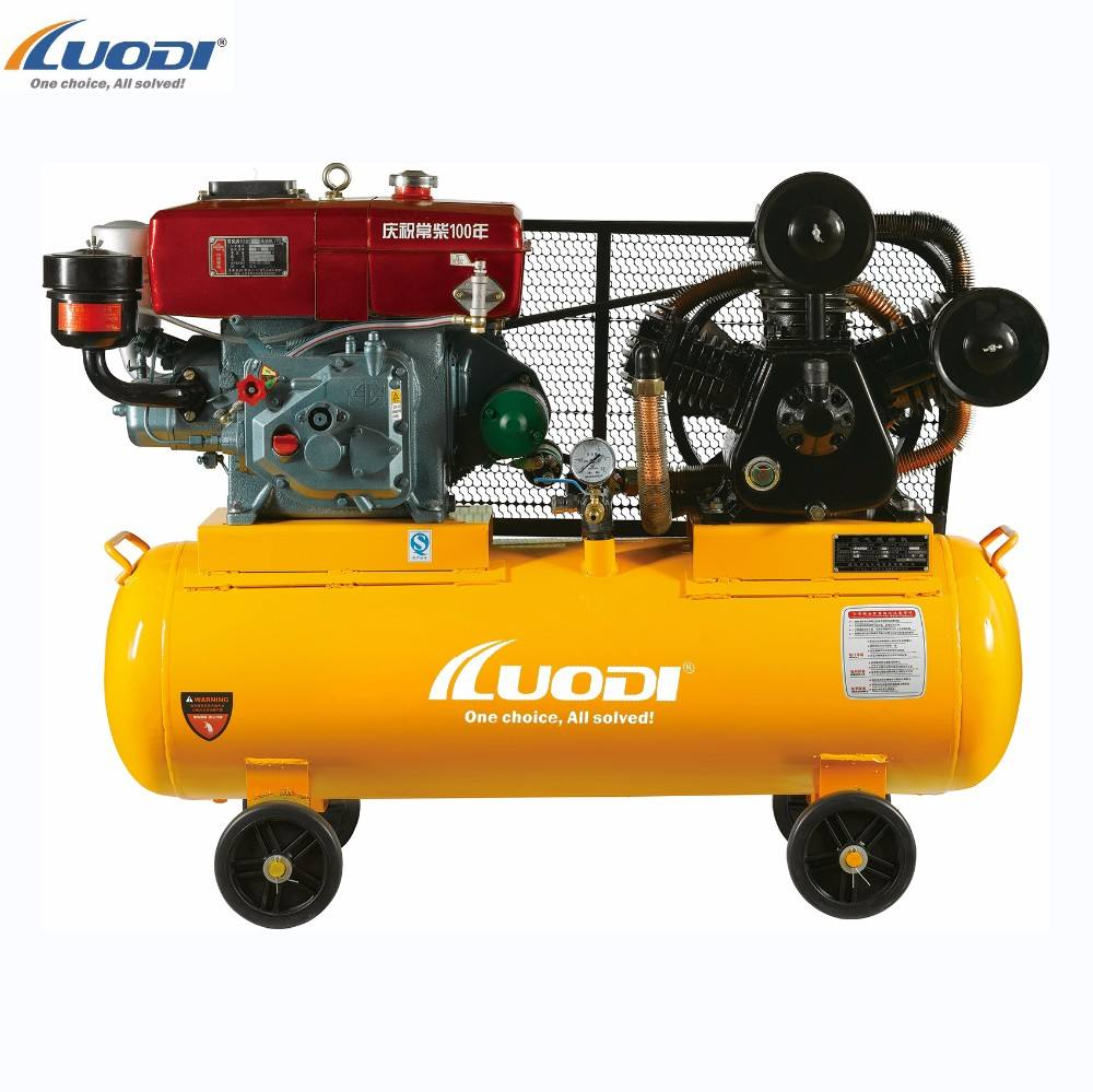 Iso [ Air ] Electric Compressor W-0.9/8 Belt Driven Portable Tire Piston Type Electric Air Compressor Machines