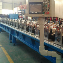 Tile plate roll forming line