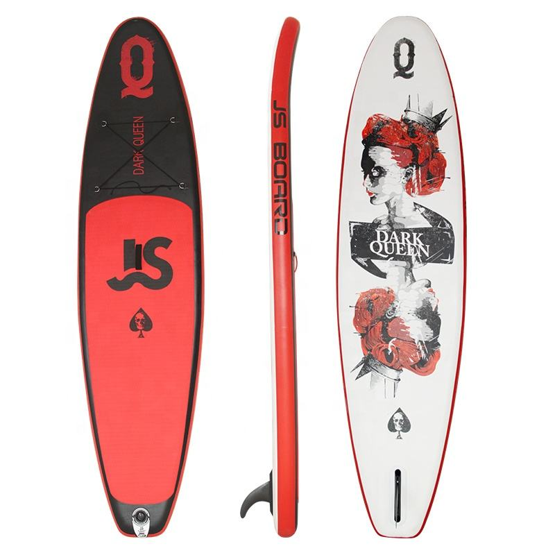JS Floating ISUP inflatable stand up paddle board / sup paddling board for water sports