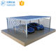 Good Quality Galvanized Steel Structure Double Metal Car Garage Carport