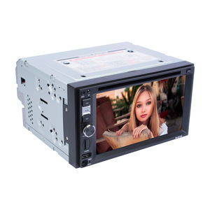 6.2 Inch 2 DIN Universal WinCE Car DVD Player Audio Mobil dengan Rear View Bluetooth