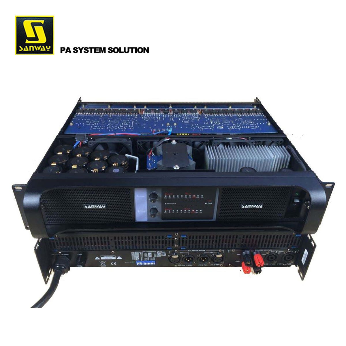 SA-14K 2 Channel 14000 Watt Profesional Switching Power Amplifier