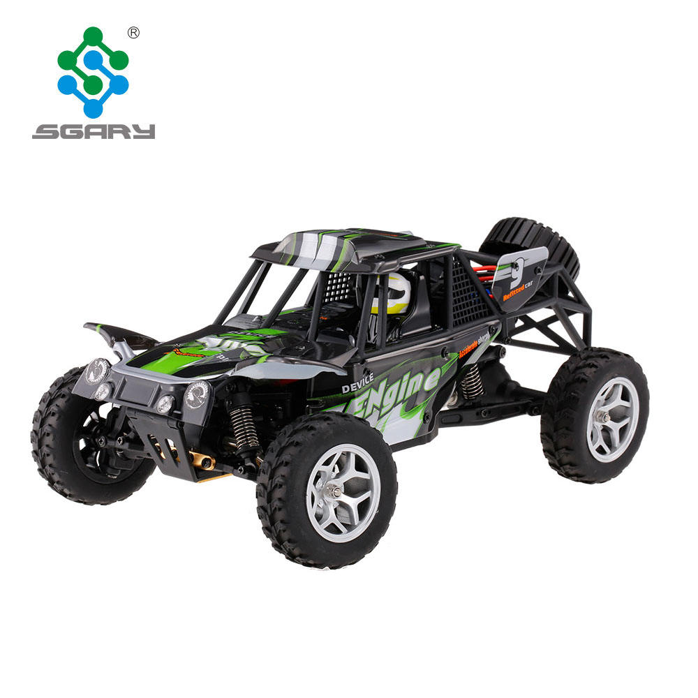 2.4G RC Car 1:18 Scale 4WD Splashing Waterproof Electric RTR Desert Buggy RC Car Vehicle Model Toys SUV