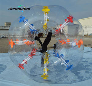 Inflable bola del zorb inflable parachoques bola