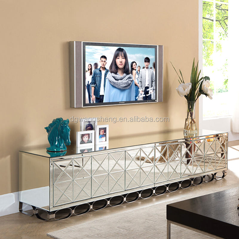 Contracted and contemporary fashion TV ark mirrored cabinet