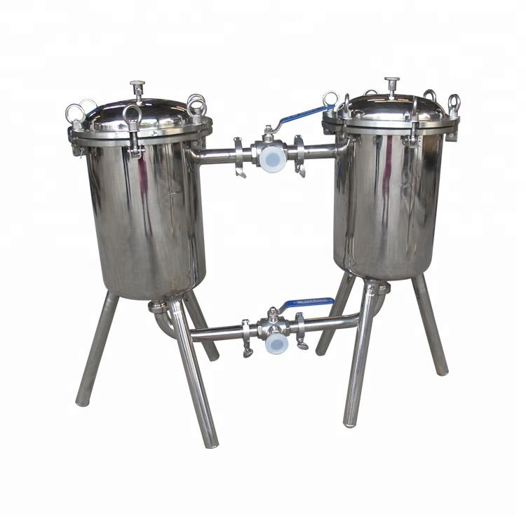 High quality double tube fruit juice filter machine