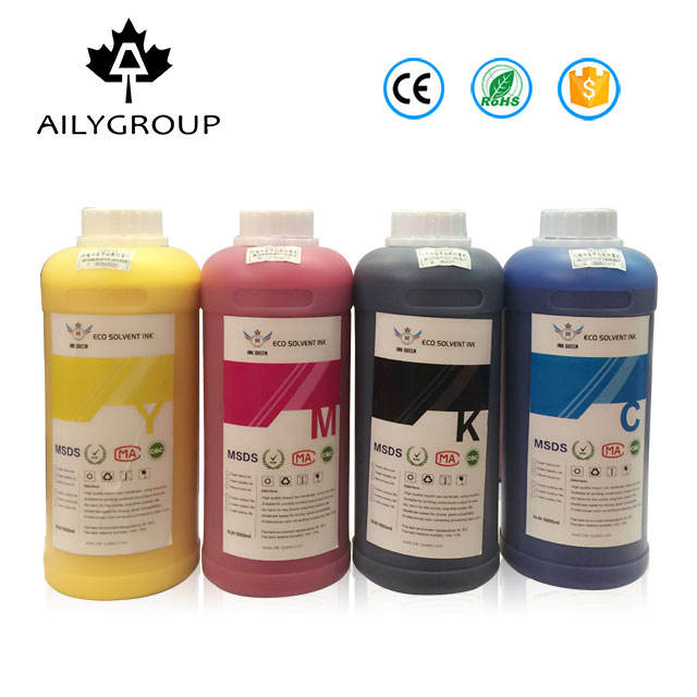 High performance 1000ml eco solvent ink for outdoor using