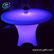 Battery Rechargeable Led Dinning Wedding Party Tables And Chairs Set