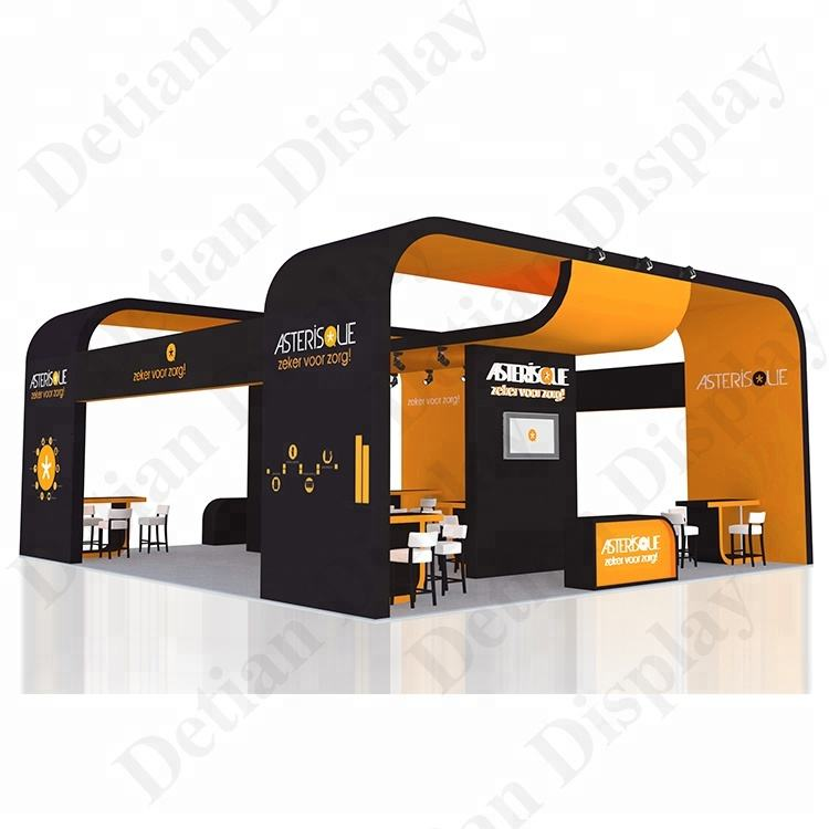 Detian do trade show Self Manufacturing Expo Exhibition Stall booth and design