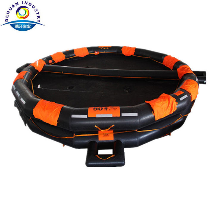 Super quality EC approved open-reversible Inflatable liferaft