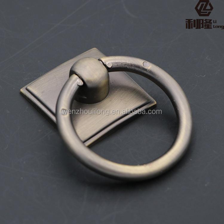 Отличные полированной нержавеющей стали цинковый сплав кольцо кухонный шкаф ручка
