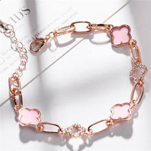 Lady Accessories Womens Rose Gold Bracelet Bangle Stainless Steel Bangles