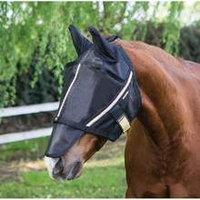 Custom UV Protection Equestrian Products Horse Fly Mask