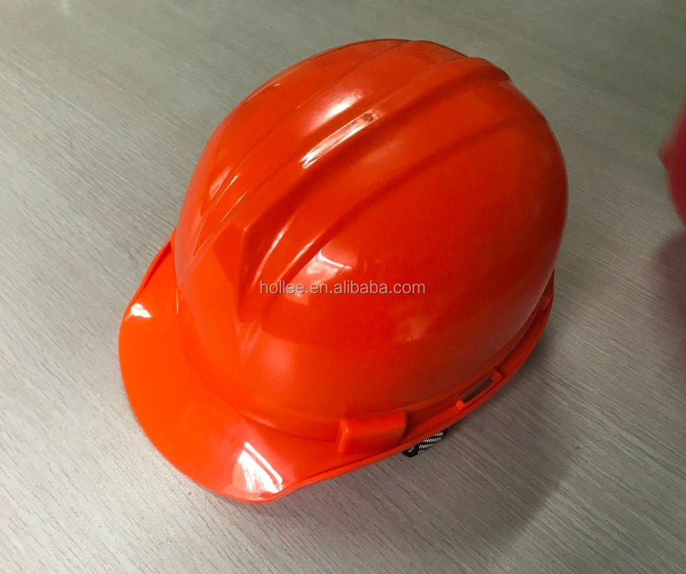 ABS Adjustable Industrial hard hat/Ratchet style safety helmet with chin strap