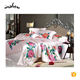 4pcs 100% Mulberry Silk Seamless Made In China Silk Satin Bedding Set