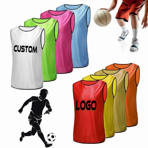 Wholesale cheap soccer pinnies sports vest team training adult soccer football basketball team training Vests Training