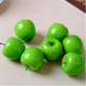 wholesale Artificial Lifelike Decorative foam Fruit for Home Deco Craft Apple Green red