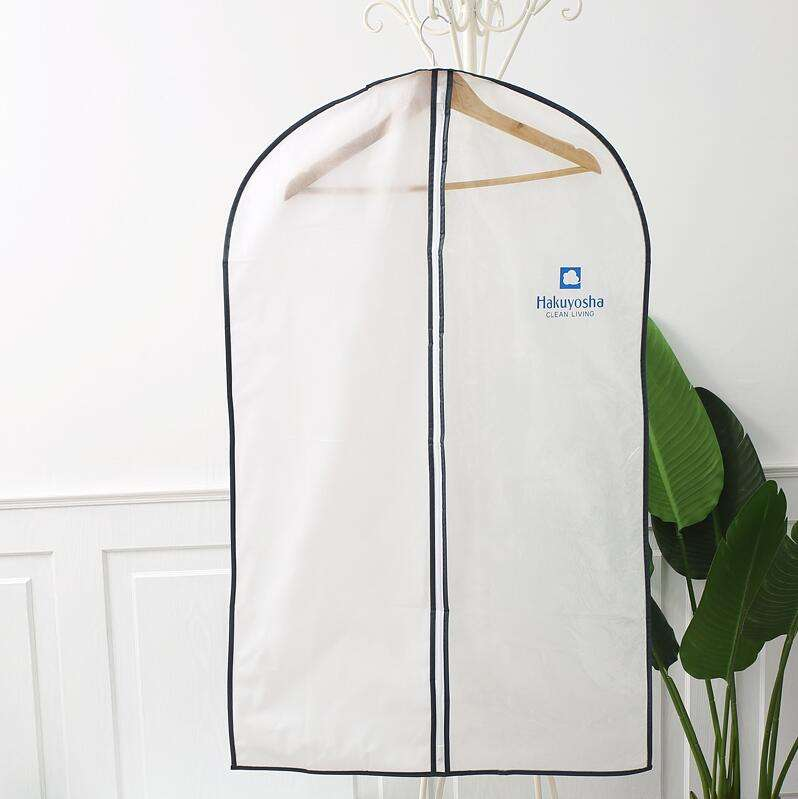 싼 custom clear plastic transparent pvc 집 shirt 주최자 걸 이식 먼지 storage bag 대 한 드레스