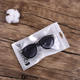 Plastic laminated sealed packaging bag for mobile phone case Pencil Sunglasses Gift