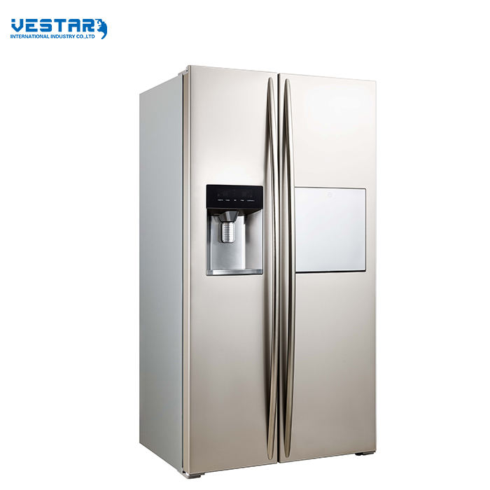 2015 vestar commercial solar freezer refrigerator fridge side by side refrigerator