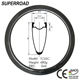 High Quality Superroad 23mm Wide 50mm Deep T1000 Road Carbon Bicycle Tubeless Rims