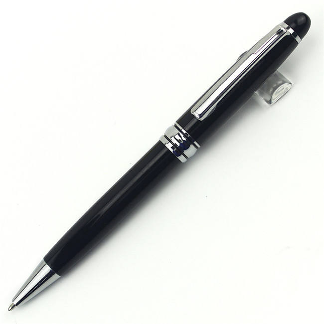 Promotional customized Logo advertising metal ball pen with ballpoint