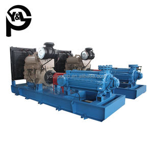 Max. Flow 850 m3/h new style factory price 100mm diesel engine water pump