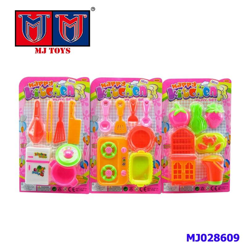 educational super cute mini tableware kitchen toys play set for sale