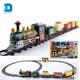 Hot Items large toy train electric rail train set with sound and light
