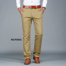 professional OEM mens slim fit Khaki chino pants trousers men wholesale cheap chino pants hot mens casual pants
