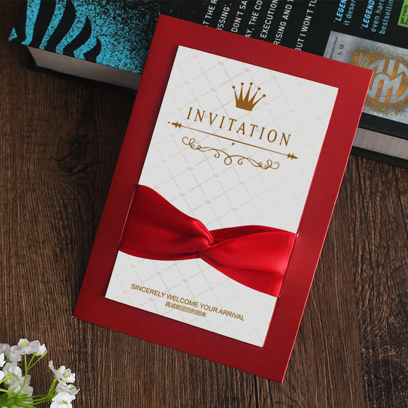 Wholesale Gift Card Business Invitation Wedding Card Customized for advertising
